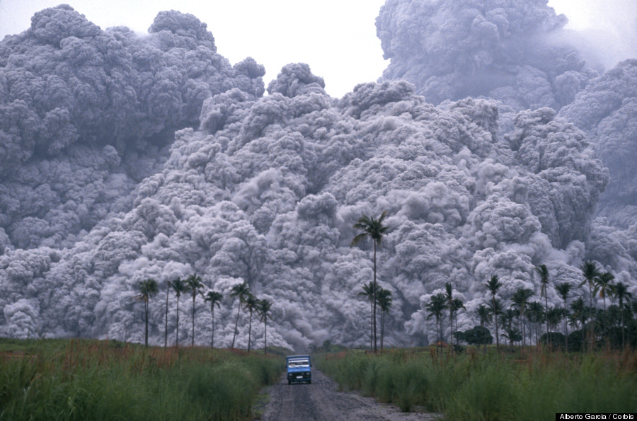 pyroclastic cloud