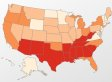 These 9 Maps Should Absolutely Outrage Southerners