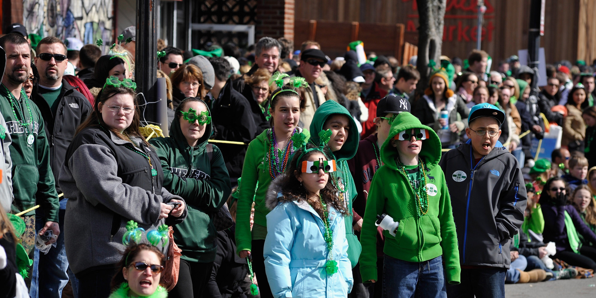 an analysis of the importance of the st patrick s day parade in new york city New york (cbsnewyork/ap) — manhattan's fifth avenue came alive saturday  for the 257th running of new york city's st patrick's day.