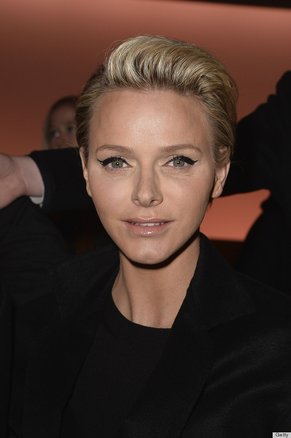 princess charlene paris fashion week