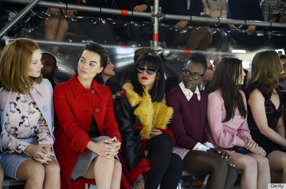 major front row miu miu