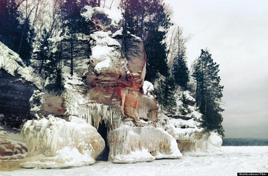 apostle islands ice