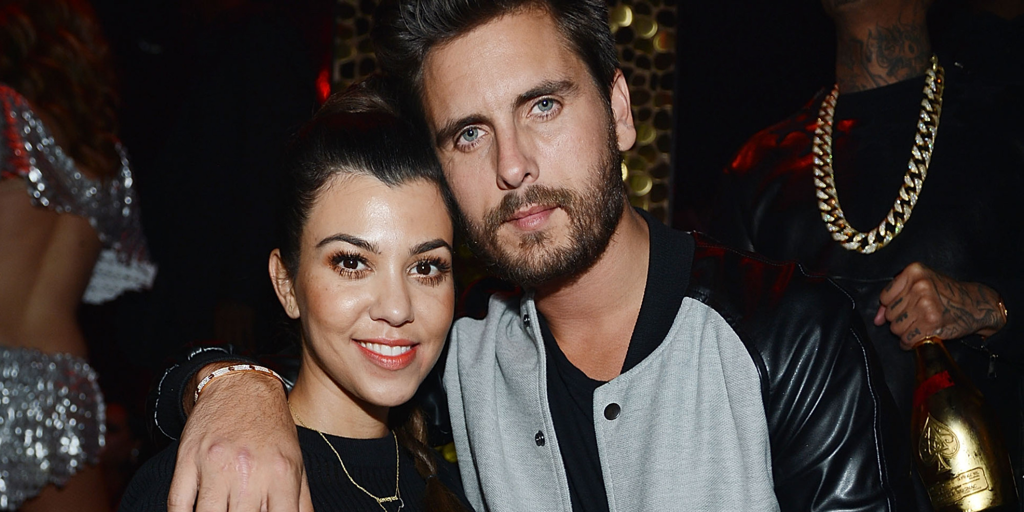 With you Scott disick and kourtney kardashian your idea
