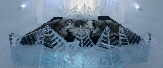 ICE HOTEL DESIGN ROOMS