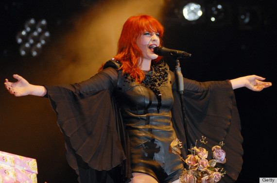 florence welch red