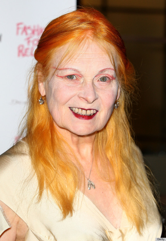 vivienne westwood orange hair