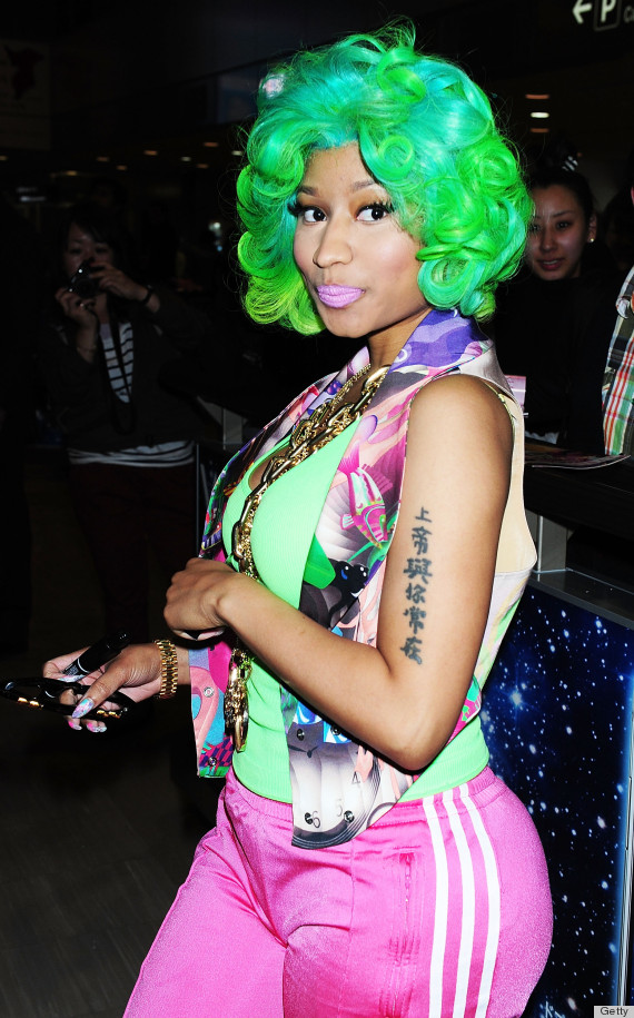 nicki green hair