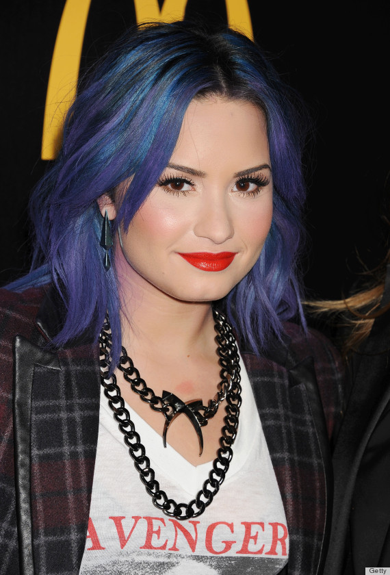 celebrity hair color that is making us seriously nostalgic