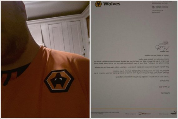 wolves fan upside down logo