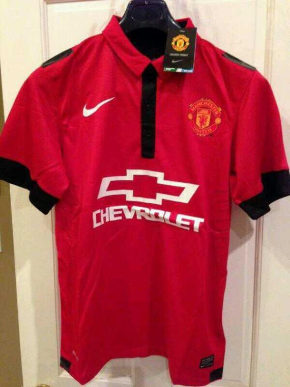 manchester united chevrolet kit