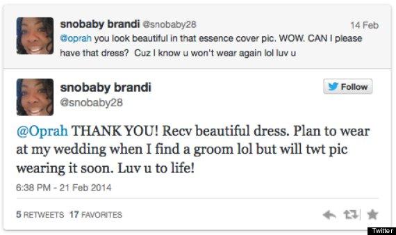 oprah dress