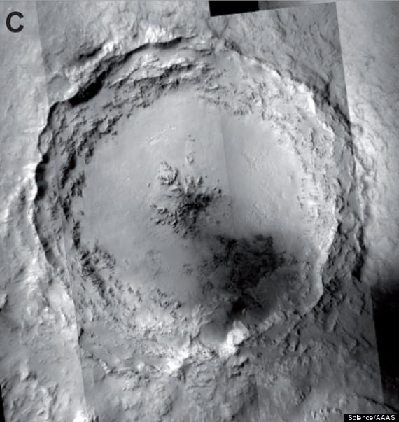 meteorites earth mars