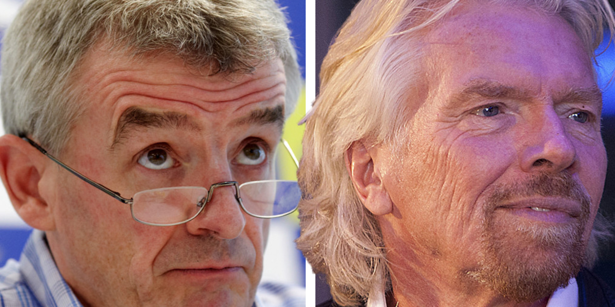 Michael O'Leary Suggests Richard Branson Has 'Some Kind Of
