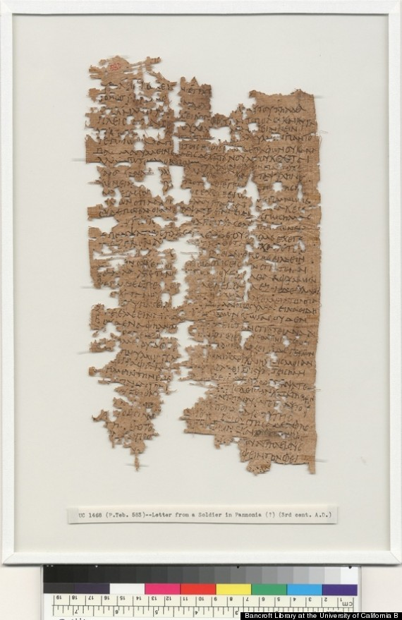 ancient egyptian letter