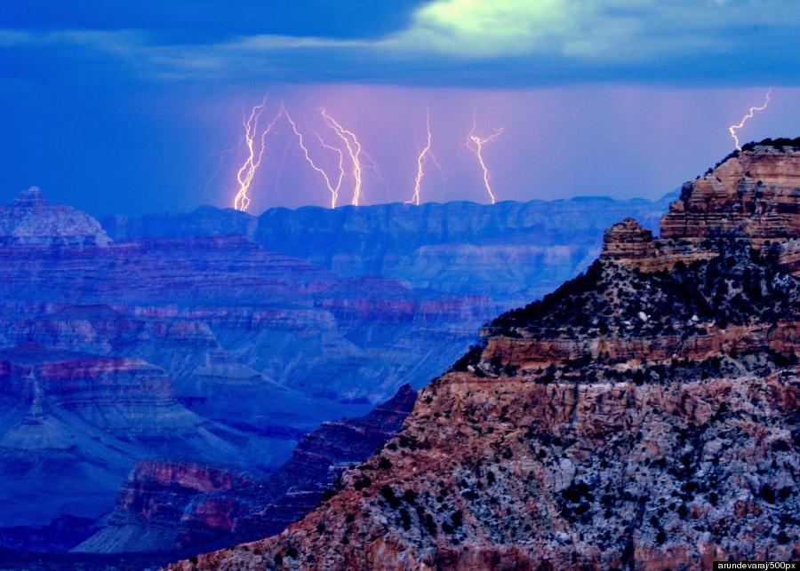 grand canyon night