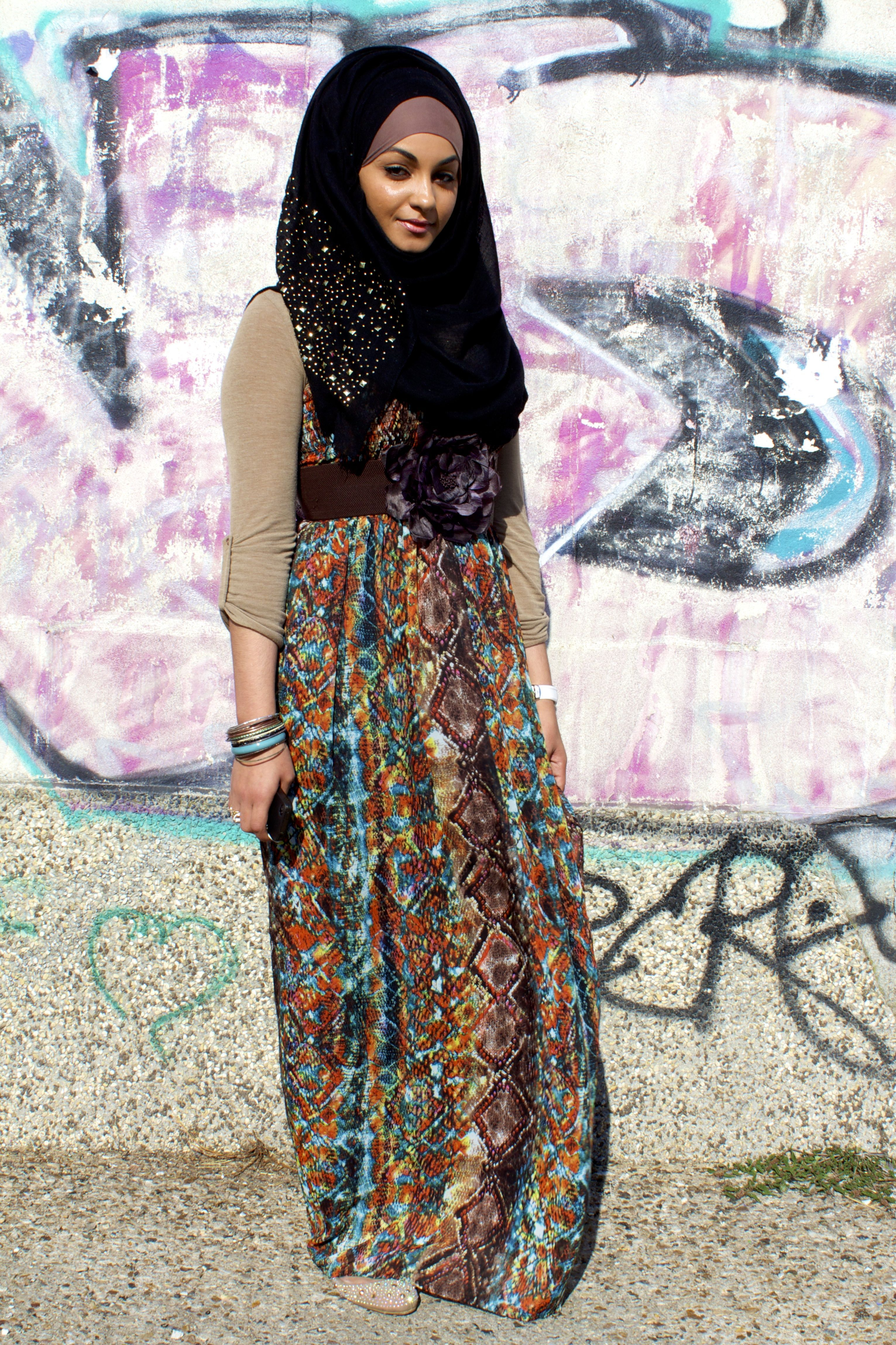 These Stylized Hijabs Show A Muslim Tradition In A ...