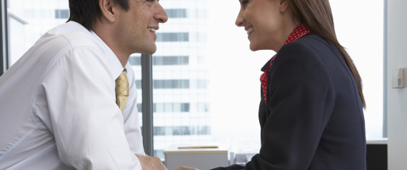 how to flirt with a coworker guy