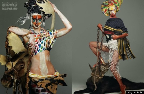 Vogue Publishes Yet Another Blackface Fashion Feature, Are