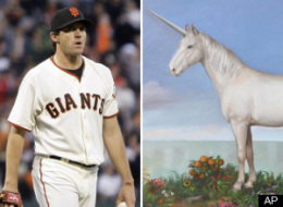 Barry Zito Unicorn