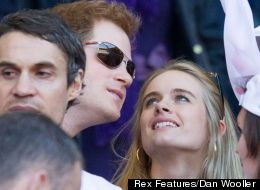 Prince Harry And Cressida Bonas Loved Up At Twickenham