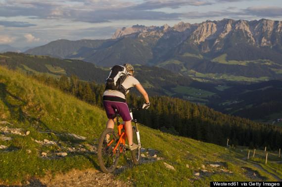 austria biking tour