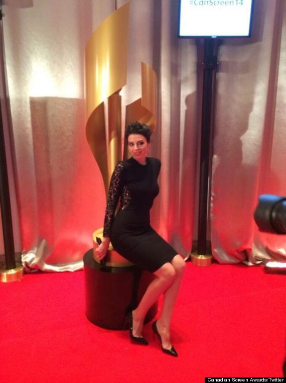 jessica pare canadian screen awards