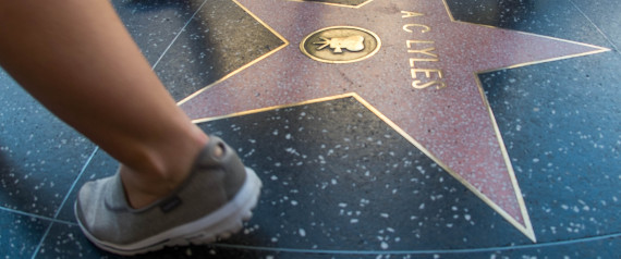 TOURISTS HOLLYWOOD WALK OF FAME