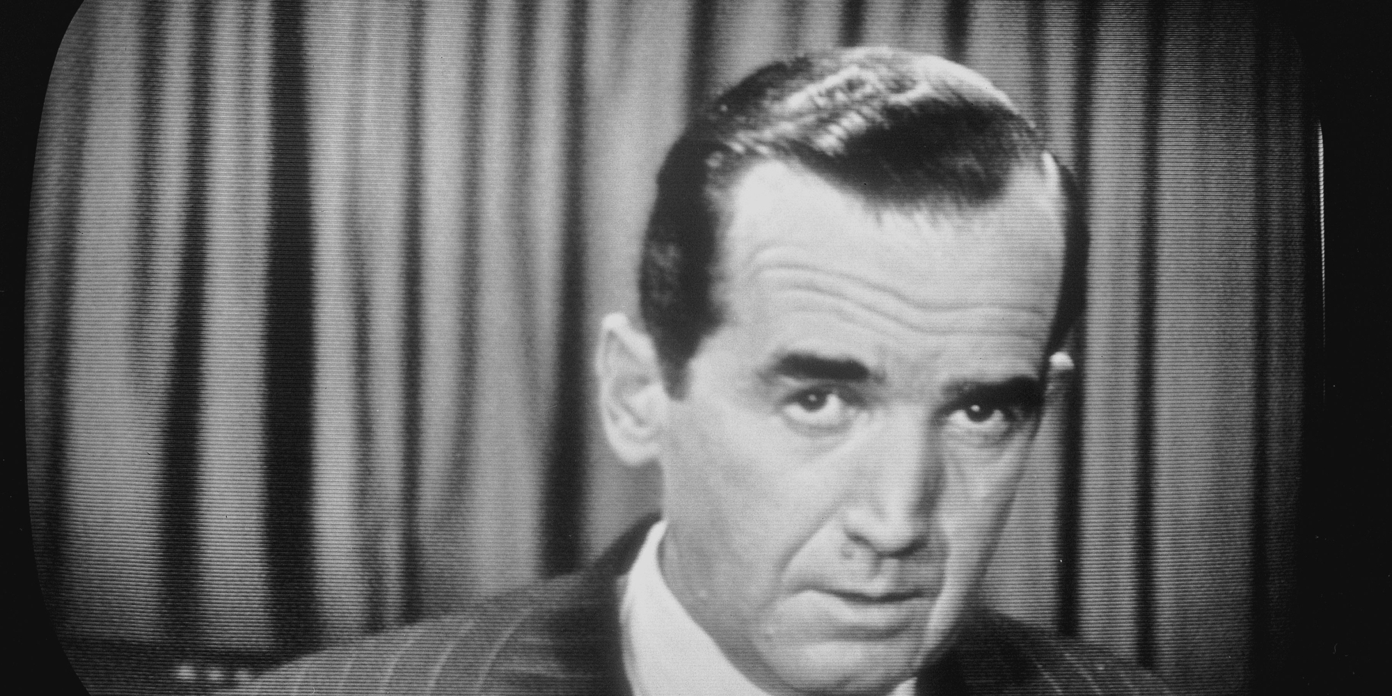 edward r murrow Edward r murrow probably wouldn't fit comfortably today in an industry - broadcast journalism - he largely created.