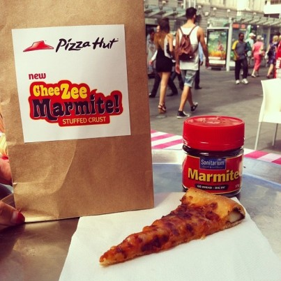 pizza hut marmite