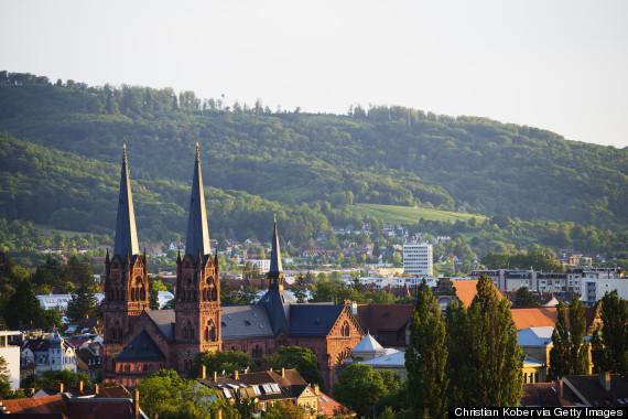 Freiburg Mountains