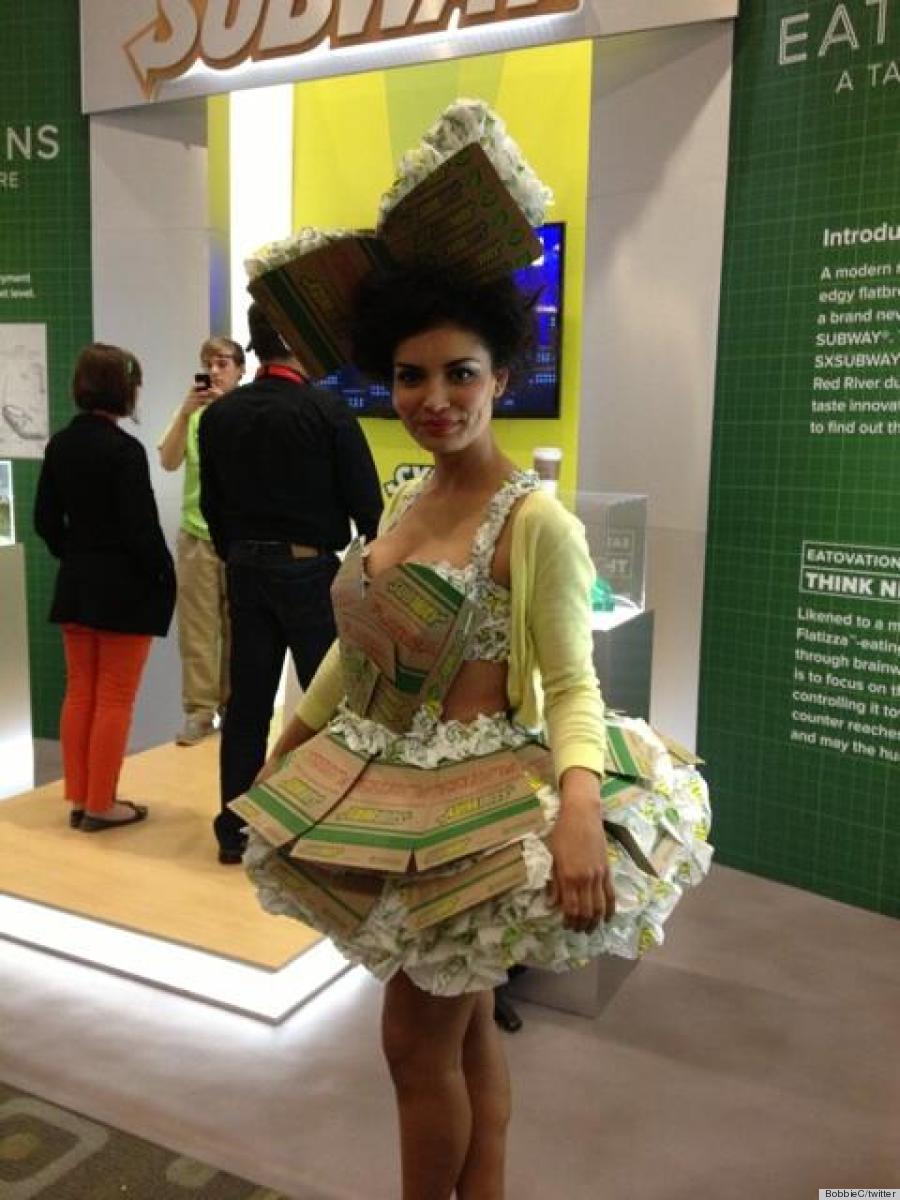 sxsw subway dress