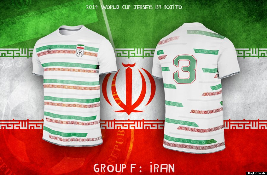 buy online 59255 7c888 We Wish These Were Actually The Jerseys For The World Cup ...