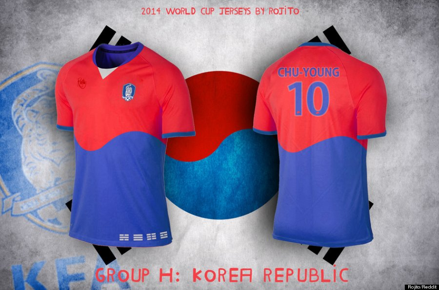 We Wish These Were Actually The Jerseys For The World Cup