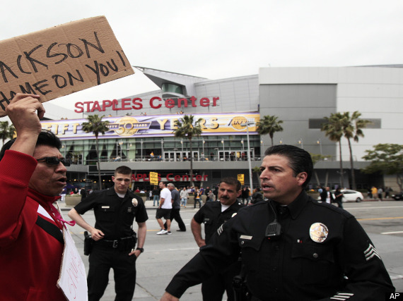 Lakers Protests
