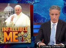Jon Stewart On The Pope's First Year