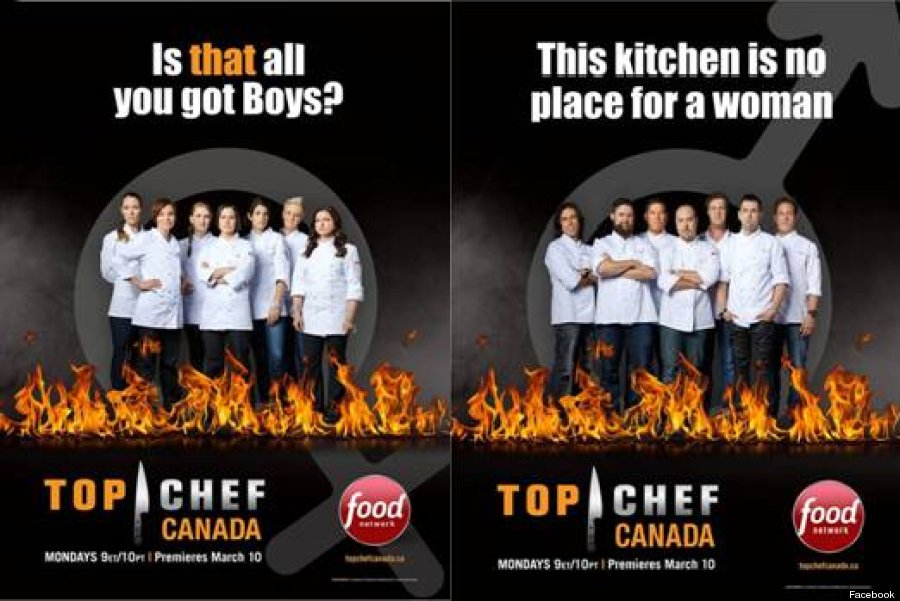 top chef canada sexist poster