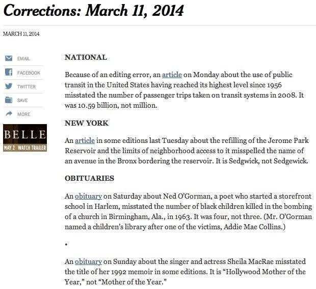 correction 2