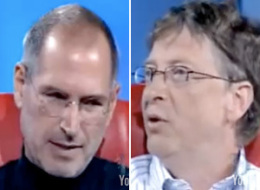 Bill Gates Steve Jobs Ipad