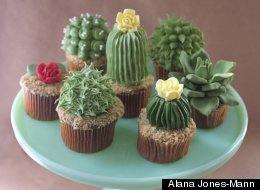 These Cactus Cupcakes Make Us Want To Move To The Desert
