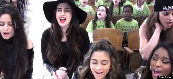 Fifth Harmony And PS22 Chorus Duet Is Just Too Sweet (VIDEO)