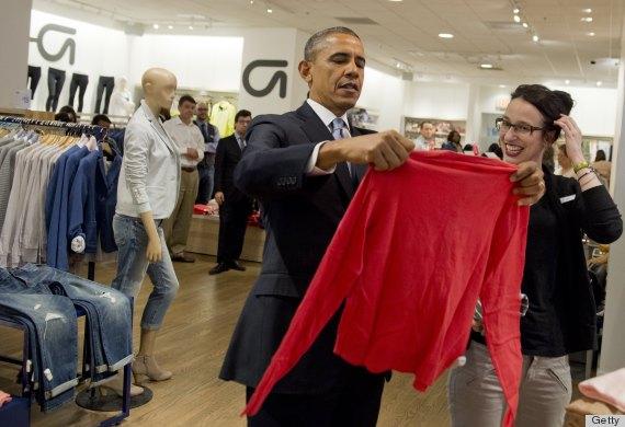 obama shopping trip