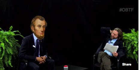 lincoln between two ferns