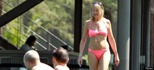 Carol McGiffin Struts Her Stuff In Bikini On Holiday
