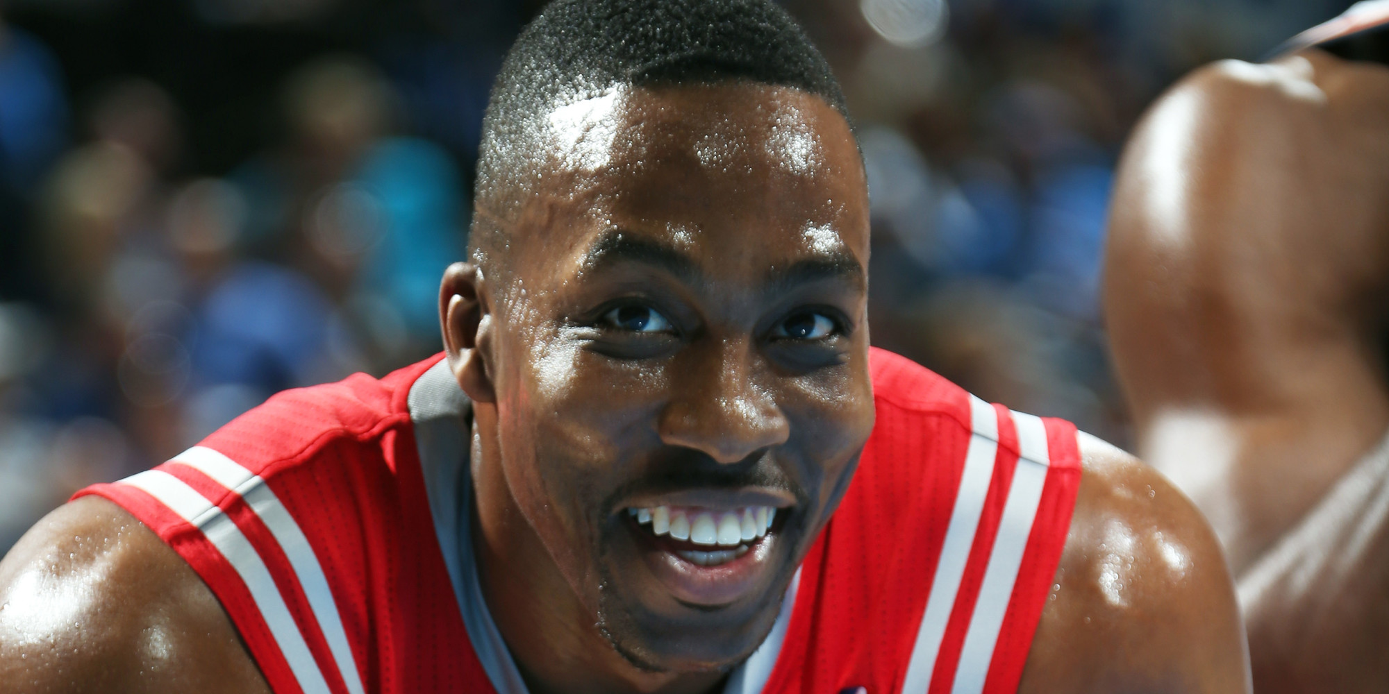 Dwight Howard Threw A Pass To Omer Asik Who Wasn T In