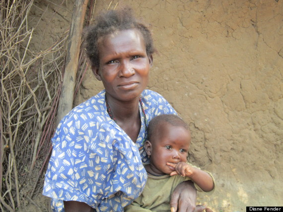 woman and child karamoja