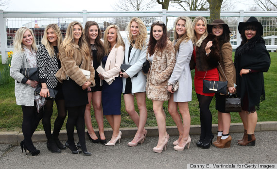 the cheltenham festival ladies day