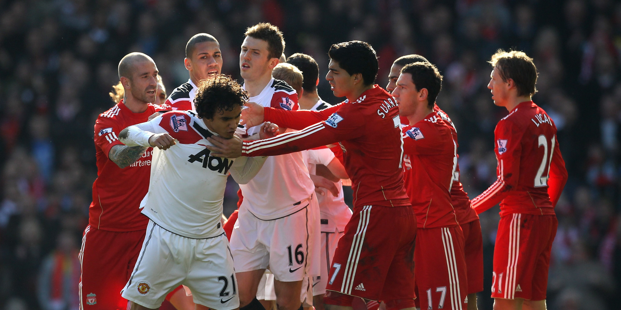 Manchester United V Liverpool: 70 Pictures Of English ...