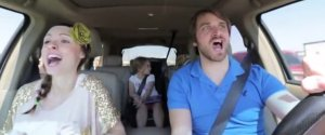 Parents Lip Sync Frozen Open Door