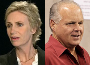 Jane Lynch Rush Limbaugh