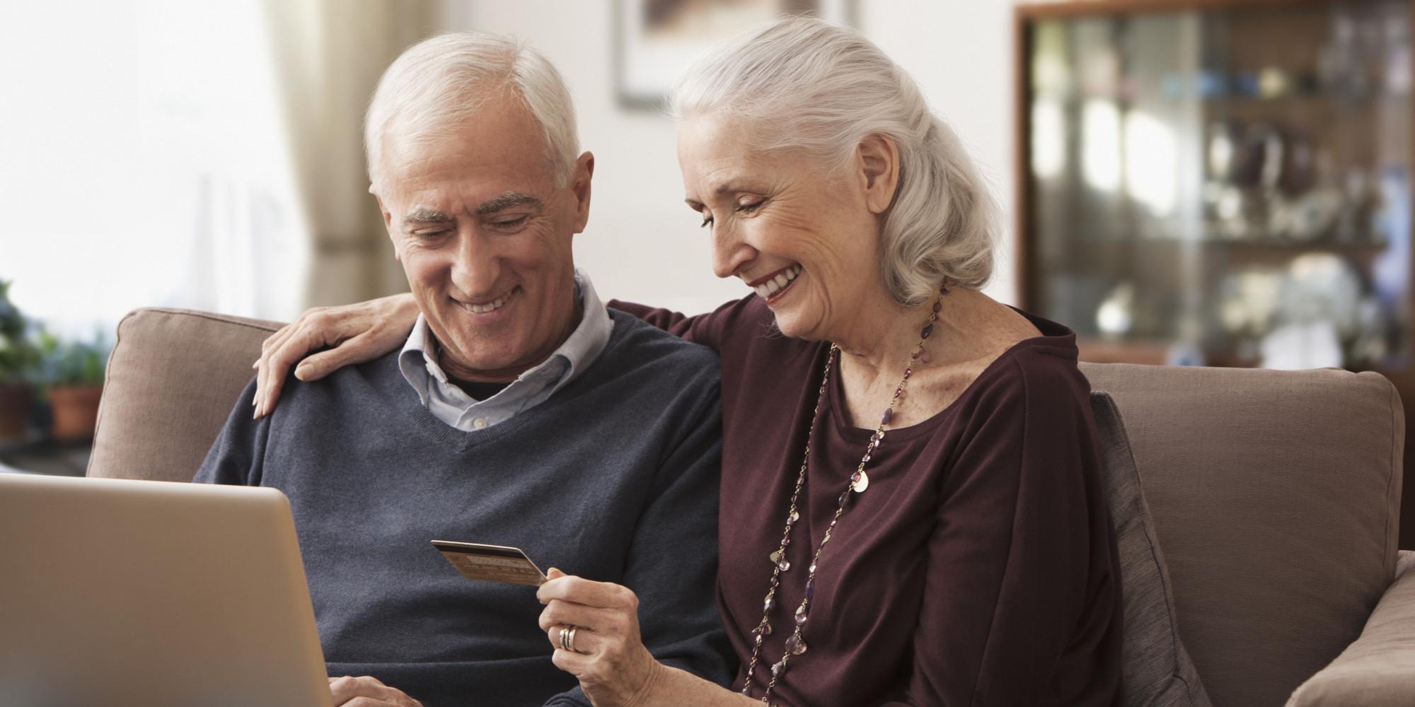 Image result for senior online shopping